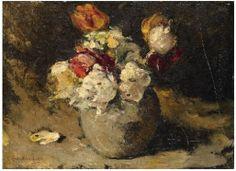 George Hendrik Breitner, Stilleven -Bloemen in een vaas