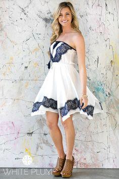 Lace Tassel Dress! 3 Colors! | Jane