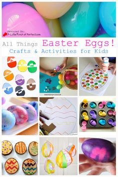 All Things Easter Eggs! - Crafts & Activities for Kids (Love to Learn Linky #35)