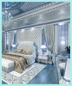 38 What Absolutely Everybody Is Saying About Elegant Luxury Bedroom Decor - kin. 38 What Absolutely Everybody Is Saying About Elegant Luxury Bedroom Decor - kindledecor Luxury Bedroom Design, Modern Bedroom, Bedroom Decor, Bedroom Ideas, Contemporary Bedroom, Feminine Bedroom, Cosy Bedroom, Budget Bedroom, Bedroom Lighting