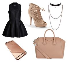 """""""salida de noche"""" by yarlin-perez on Polyvore featuring Apt. 9 and Givenchy"""