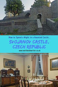 Spending the night in a haunted castle... Svojanov Castle in East Bohemia