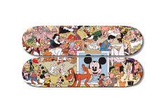 Disney Orgy Skate Decks by Paul Krassner & Wally Wood   Hypebeast