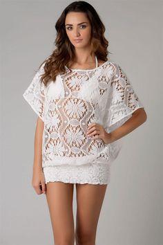 Trina Turk - Kuta Crochet Covers