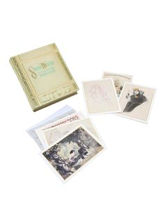 Disney Snow White And The Seven Dwarfs Note Card Gift Box,