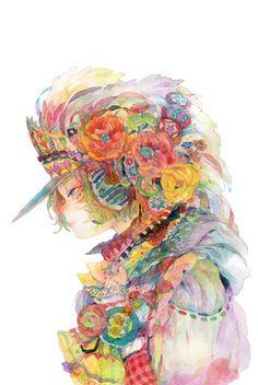 「花嫁」/「るん太」のイラスト [pixiv]