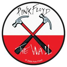 Pink Floyd The Wall Logo - Logo Vector Online 2019 Pink Floyd Logo, Pink Floyd Poster, Pink Floyd Art, Pink Floyd T Shirt, Rock Band Posters, Rock Band Logos, Rock Bands, Imagenes Pink Floyd, Pink Floyd Hammers