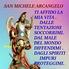 Spiritual Pictures, Prayer Quotes, Madonna, Good Vibes, San Michele, Catholic, Prayers, Faith, Sacramento