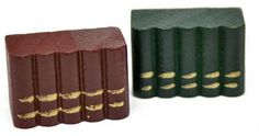 Doll House Miniature Library Books