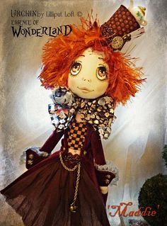 OOAK Art Doll Urchin Maddie