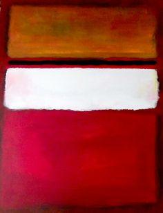 rothko white painting