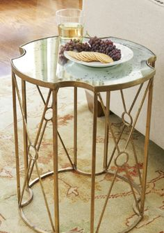 Gorgeous side table.