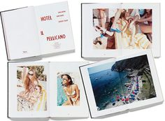 Hotel Il Pellicano chronicles the Italy hotel's legendary history, including photographs of the glamorous individuals (Emilio Pucci, Douglas Fairbanks Jr., and Britt Ekland, to name a few) who frequented the hotel. With snaps from 3 photographers (Aarons, John Swope, and Juergen Teller), you'll get 3 different perspectives on the beautiful destination.