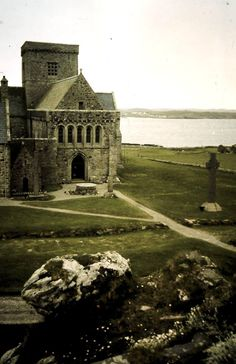Iona Abbey- I've been there. The Book of Kells originated here in 484 A.D.