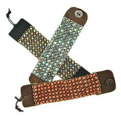 Bead Kits-Leather And Lace-African Turquoise-Kit Only-Pattern Sold Separately