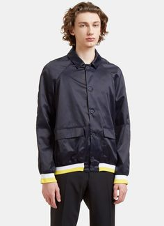 Men's Jackets - Clothing | Find more at LN-CC - Technical Coach Jacket