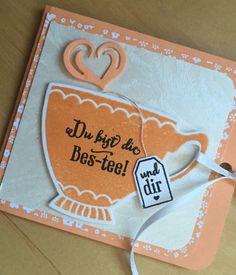 Kleines Teebüchlein. Schön für jemanden der gerne Tee trinkt.