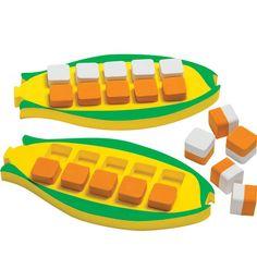 Corn On The Cob Ten-Frames