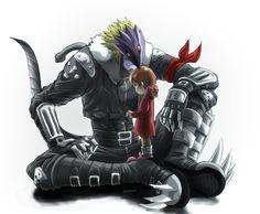 Pixiv Id 3322490, Digimon Tamers, Ai (Digimon), Beelzemon, Little Girl