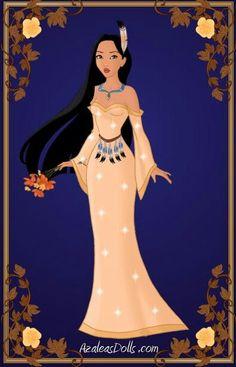 Pocahontas Prom Dress