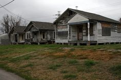 houses across from jefferson davis hospital by Exquisitely Bored in Nacogdoches, via Flickr