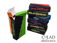 Creative Custom Promotional Packaging from Colad - Paperboard Custom Box Sets. See more of Colad's Custom Packaging Designs: http://www.colad.com/products/ #packaging #sales #marketing #advertising #brandrecognition