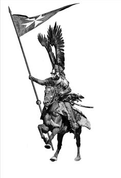 Polish Hussaria ('Winged horsemen') dominated Central and Eastern Europe battlefields throughout the century and were central to the relief of Vienna, Central And Eastern Europe, Vienna, Creativity, Wings, Polish, History, My Love, Art, Art Background