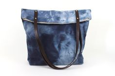 Hand Dyed Carry-All Tote