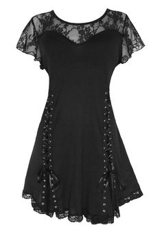 Dare To Wear Victorian Gothic Women's Plus Size Roxanne Corset Top Black 3x