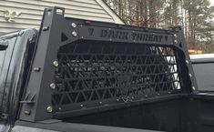 Dark Threat Fabrication is a licensed engineering and design company that specializes in metal fabrication and finishing - heavy duty truck accessories. Custom Truck Beds, Custom Trucks, Toyota Hilux, Toyota Tacoma, Ram Accessories, 2015 Chevy Silverado, Truck Covers, 4x4, Truck Storage