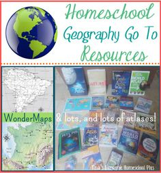 Homeschool Geography Go To Resources that are timeless    #homeschool geography