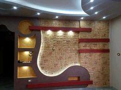 Gypsum Ceiling Design, Ceiling Design Living Room, Living Room Designs, Lcd Wall Design, Wall Partition Design, Tv Unit Decor, Tv Wall Decor, Tv Cabinet Design, Tv Unit Design