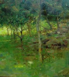 Richard Schmid& New Landscape Book Nature Paintings, Beautiful Paintings, Oil Paintings, Rick Stevens, Oil Painting Trees, Landscape Artwork, Green Landscape, Traditional Paintings, Art Graphique