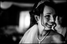 Portrait of Emilie before marrying Andy at Wasing Park -