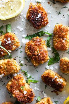 Mediterranean Chickpea Cauliflower Tots