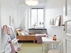 Decoración femenina - romántica en blanco, gris y rosa - Estilo nórdico | Blog de decoración | Muebles diseño | Decoración de interiores - Delikatissen