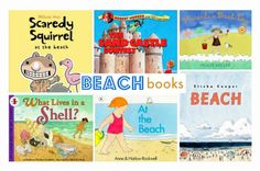 Beach picture books. Repinned by SOS Inc. Resources.  Follow all our boards at http://pinterest.com/sostherapy  for therapy resources.