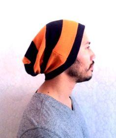 Mens Beanie Hat Christmas gift Slouch cap Men by MissTopKnot, $22.00