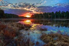 Mew Lake, Algonquin Park.