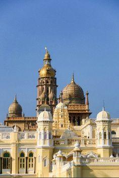 Mysore Palace in Karnataka State of Mysore City, India