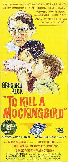 To Kill a Mockingbird #ilm #poster (Australia, 1963)
