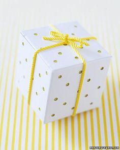 One Box 10 Ways: Polka Dot