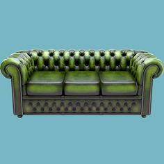 classic chesterfield sofa chester 3d model - Chesterfield Sofa... by RenderStuff