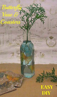 Lovely and easy Decoupage craft !