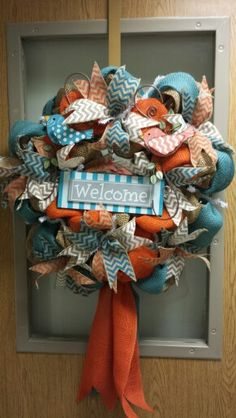 Relay for Life Raffle Wreath