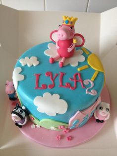 Another peppa pig cake