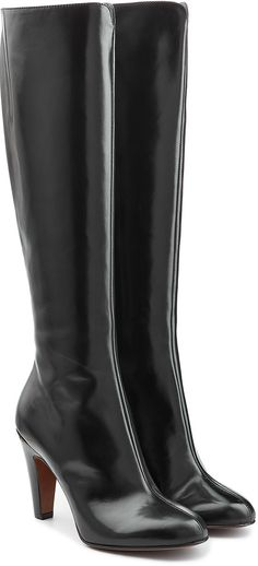 LAutre Chose Leather Knee Boots