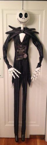 Jack Skellington 6ft Tall hanging prop Nightmare Before Christmas halloween