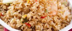 Nasi goreng recept om snel in een grote hoeveelheid te maken, makkelijk in te vriezen.