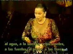 """The best spanish mezzosoprano TERESA BERGANZA sings Cherubino´s aria """"Non so piu cosa son cosa faccio"""" from Le nozze di Figaro by Wolfgang Amadeus Mozart."""